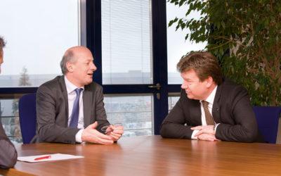Jan-Reinier Swinkels in gesprek met Dick Kroot