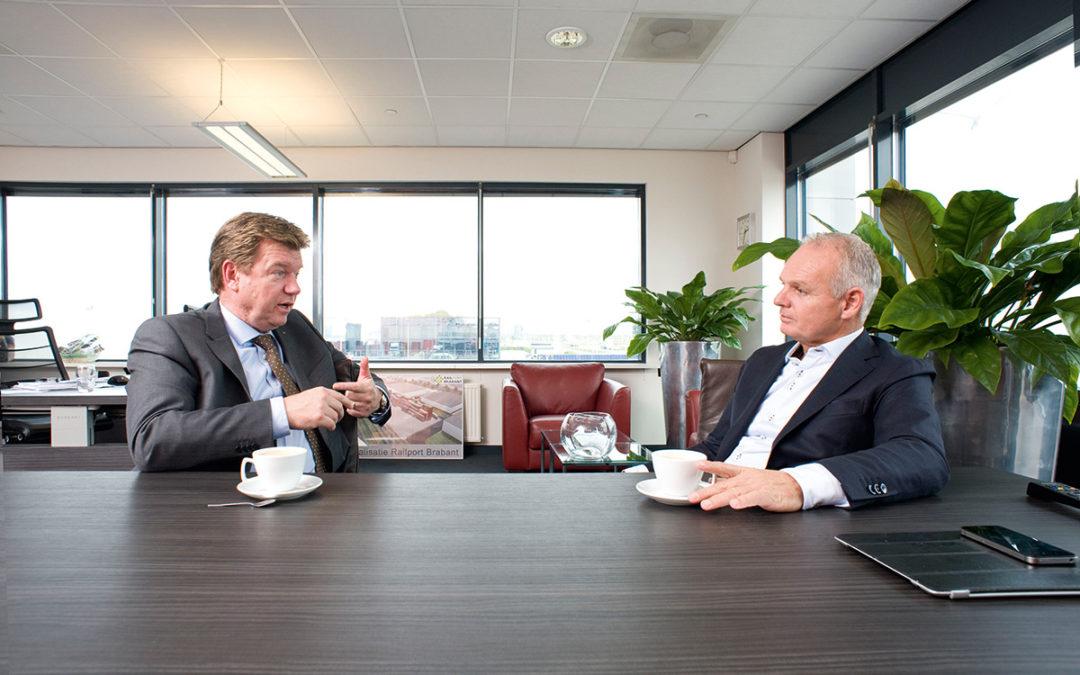 Dick Kroot bezoekt logistieke dienstverlener GVT Group in Tilburg