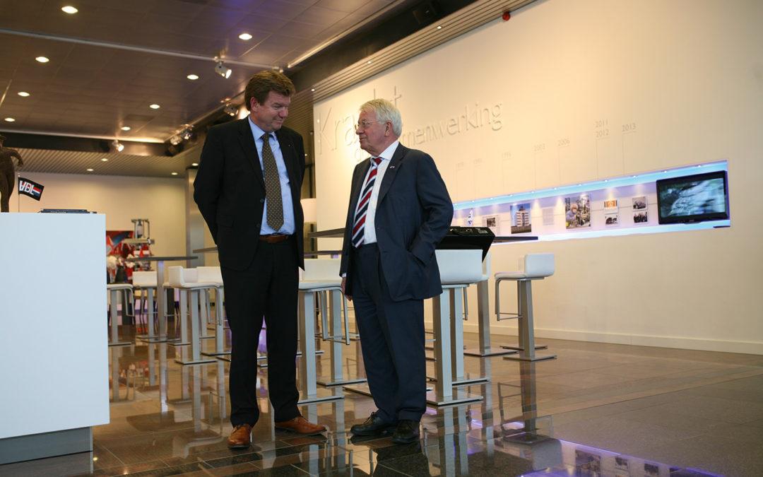 Topondernemer Wim van der Leegte in gesprek met Dick Kroot