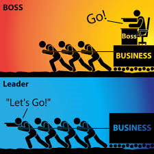 Boss or leader; the difference…